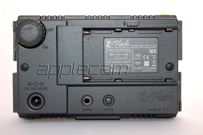 Накамерный фото и видео свет F&V HDV-Z96 Z-Flash