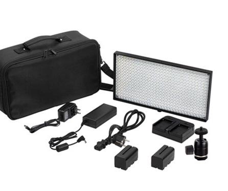 Светодиодный накамерный свет Lishuai-508A  мощность 30Вт