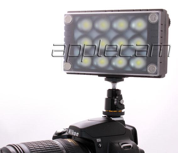 Накамерный свет Wansen W12